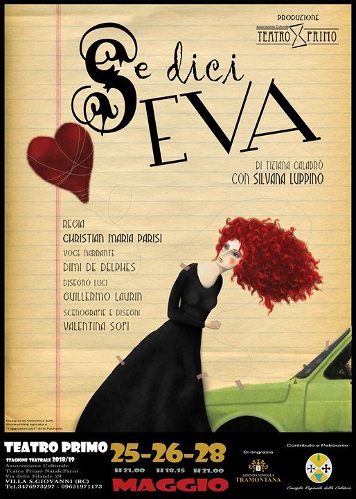 Se dici EVA - Teatro Primo Stagione Teatrale 2108/19