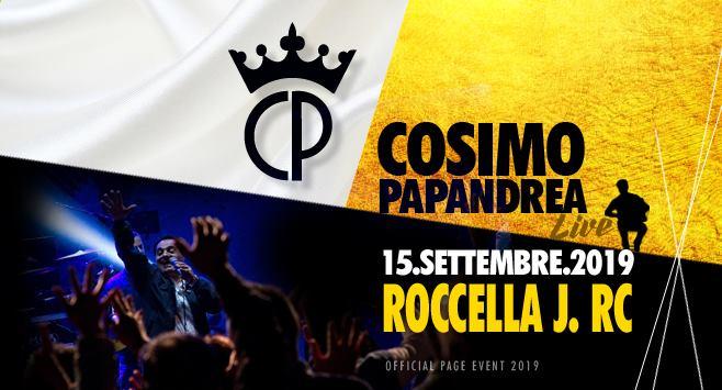 Cosimo Papandrea Live a Roccella Jonica RC
