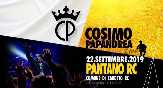 Cosimo Papandrea Live a Pantano di Cardeto RC