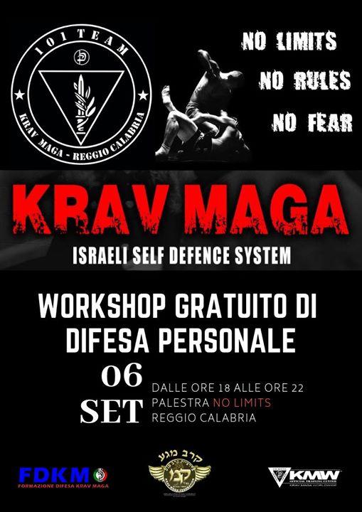 Workshop Gratuito Difesa Personale