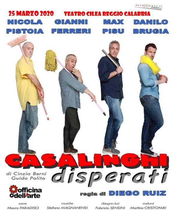 """Ferreri-Pistoia-Pisu-Brugia in: """"Casalinghi disperati"""""""