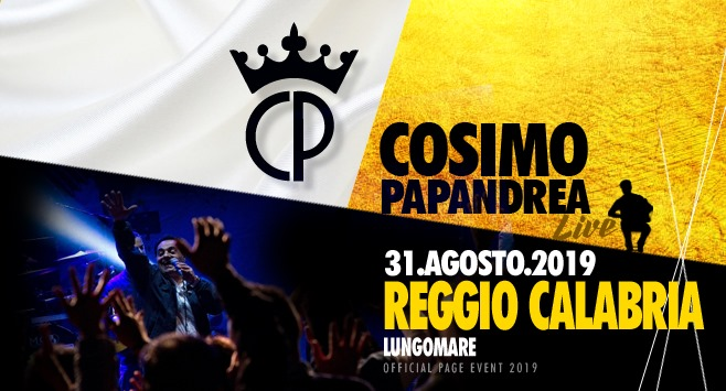 Cosimo Papandrea Live a Reggio Calabria