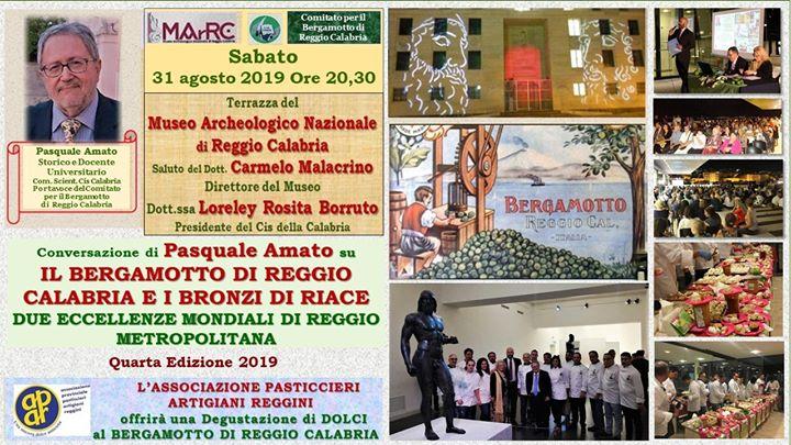 31-08-19 MuseoRC Bergamotto e Bronzi Eccellenze Mondiali Reggio