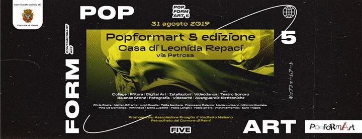 PopFormArt 5° edizione
