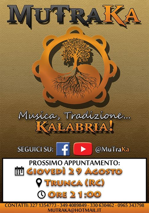 MuTraKa Live Tour 2019 - Concerto a Trunca (RC)