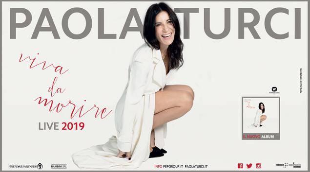 Paola Turci 30 Novembre 2019 Teatro F.Cilea Reggio Calabria