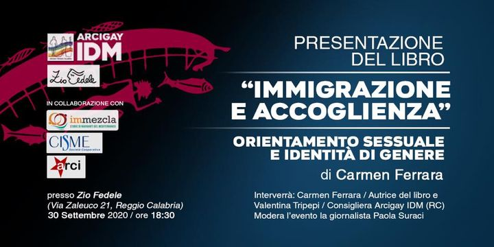 """Presentazione del libro """" Immigrazione e accoglienza"""""""