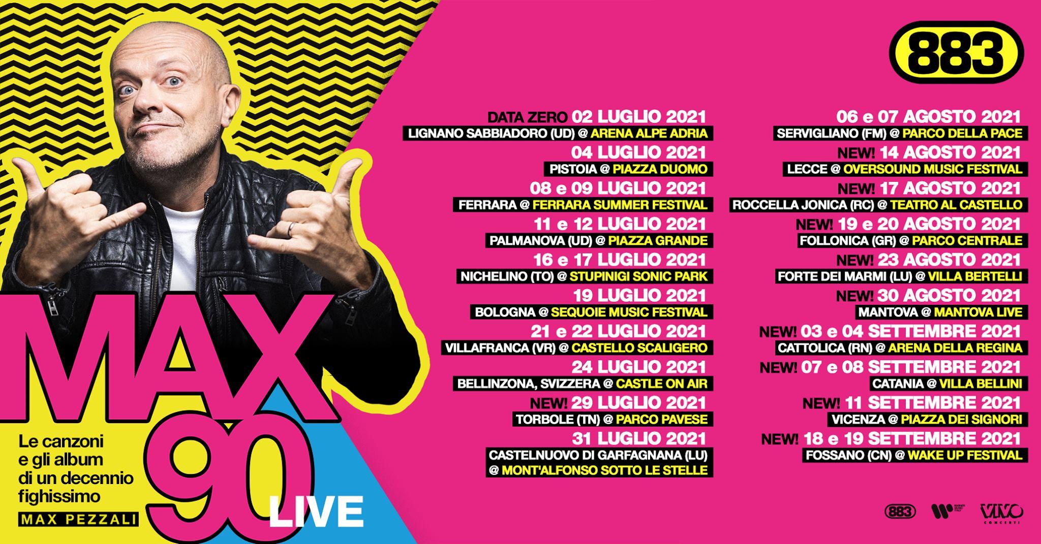 Max Pezzali 17 Agosto 2021 - Roccella Summer Festival