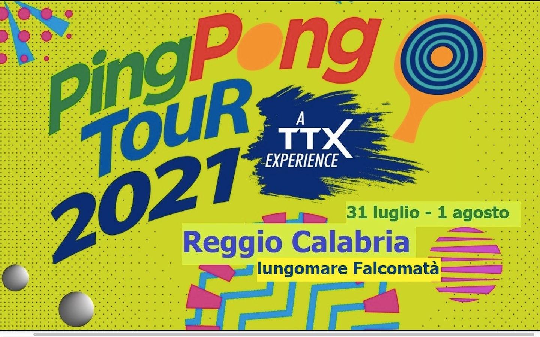TTX Ping Pong Tour 2021 Reggio Calabria