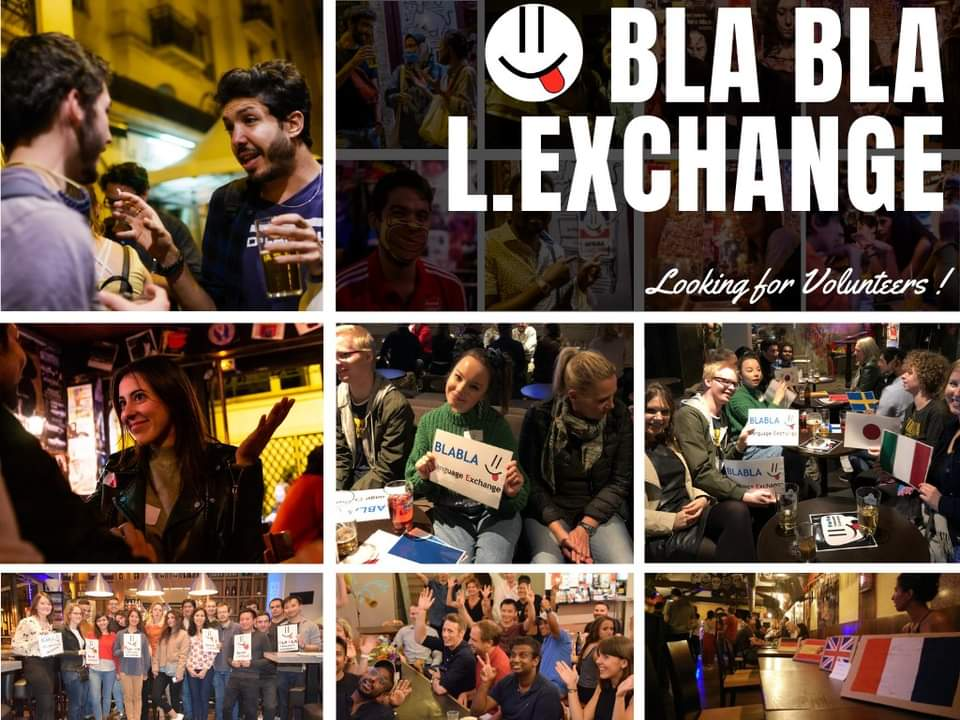 Reggio Calabria BlaBla Language Exchange (Online - Every Wednesday)