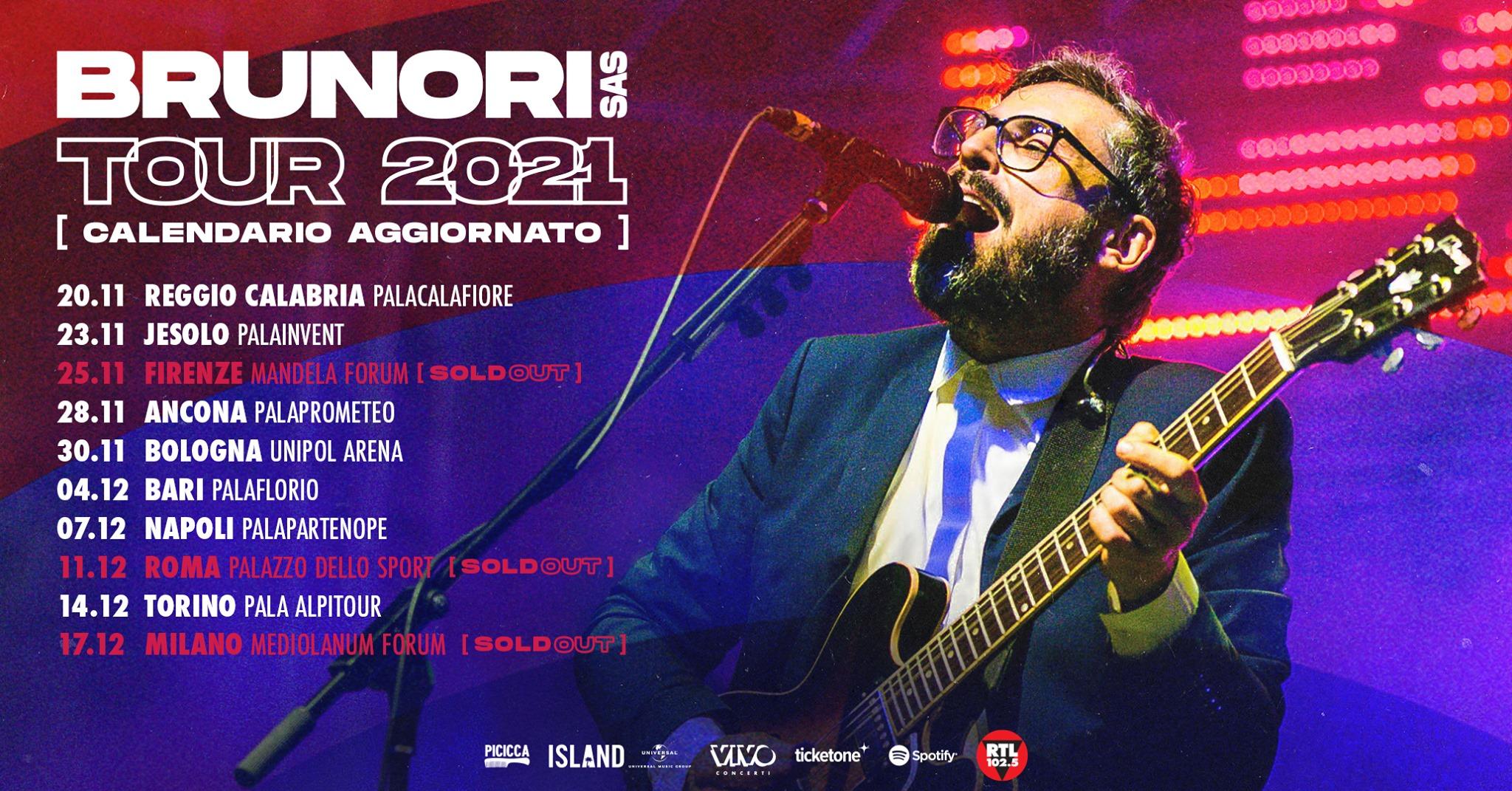 Brunori SAS in concerto a Reggio Calabria *data spostata