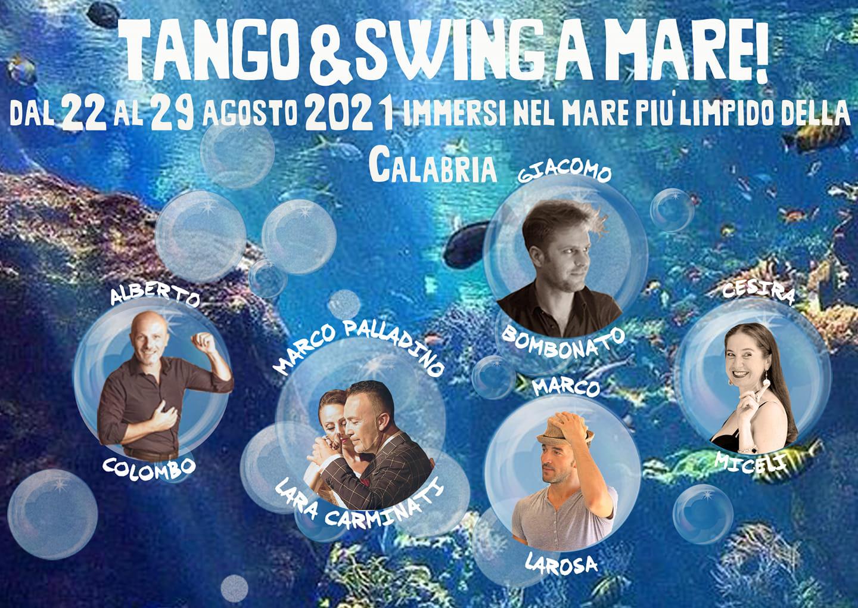 Vacanza Tango&Swing ...a mare! 22-29 agosto 2021