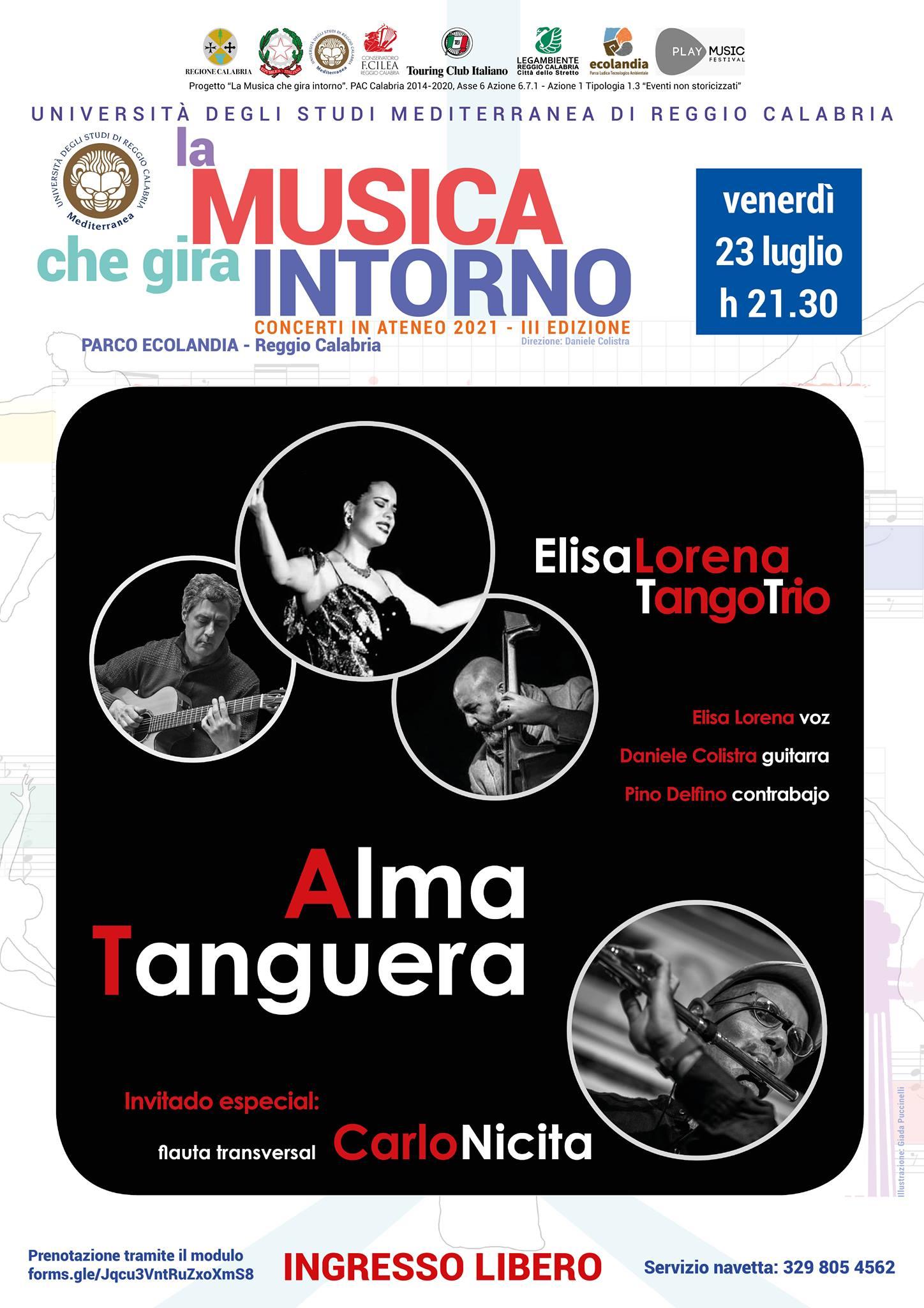 Elisa Lorena Tango Trio & Carlo Nicita