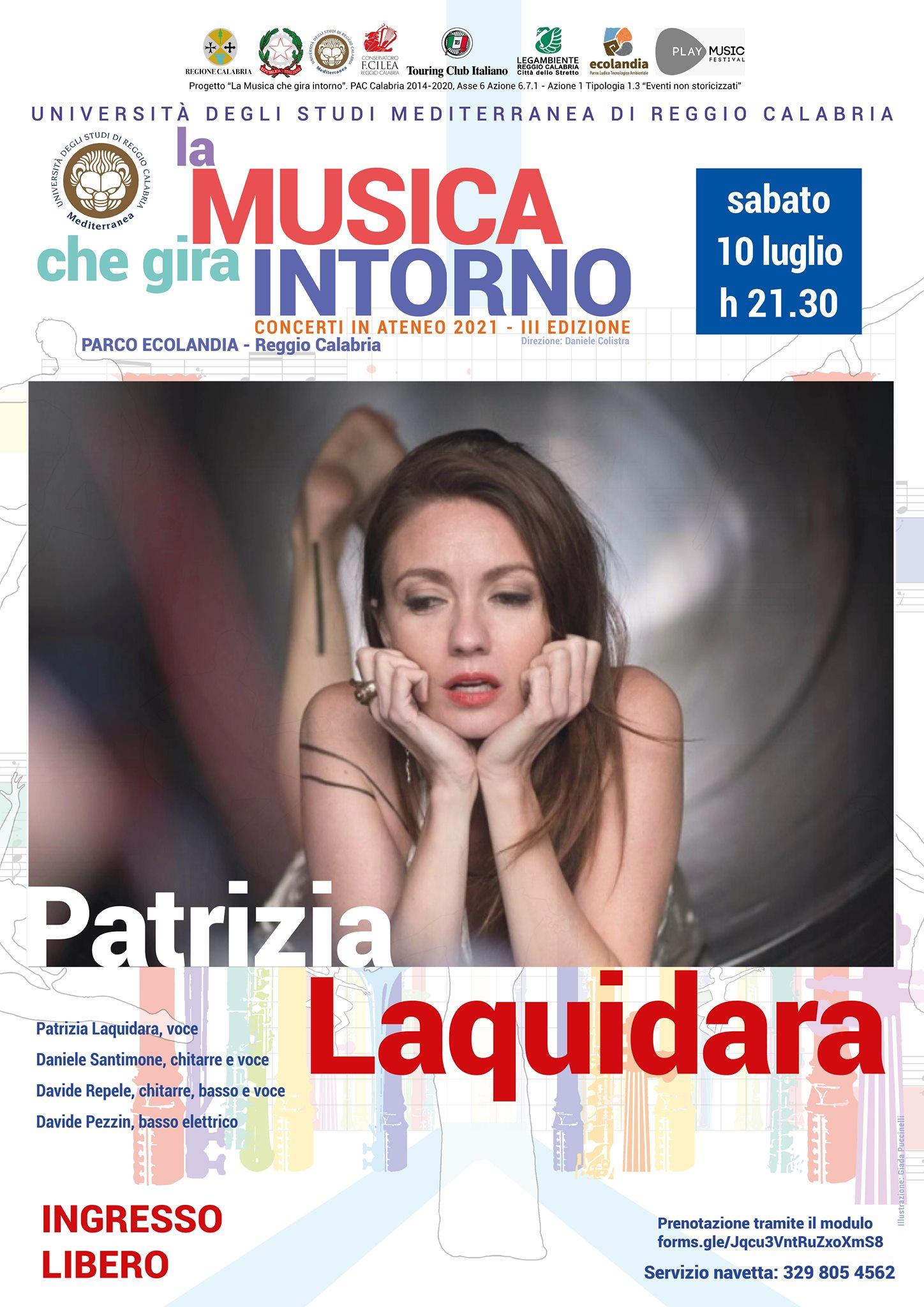 "Patrizia Laquidara ""Stanze"""