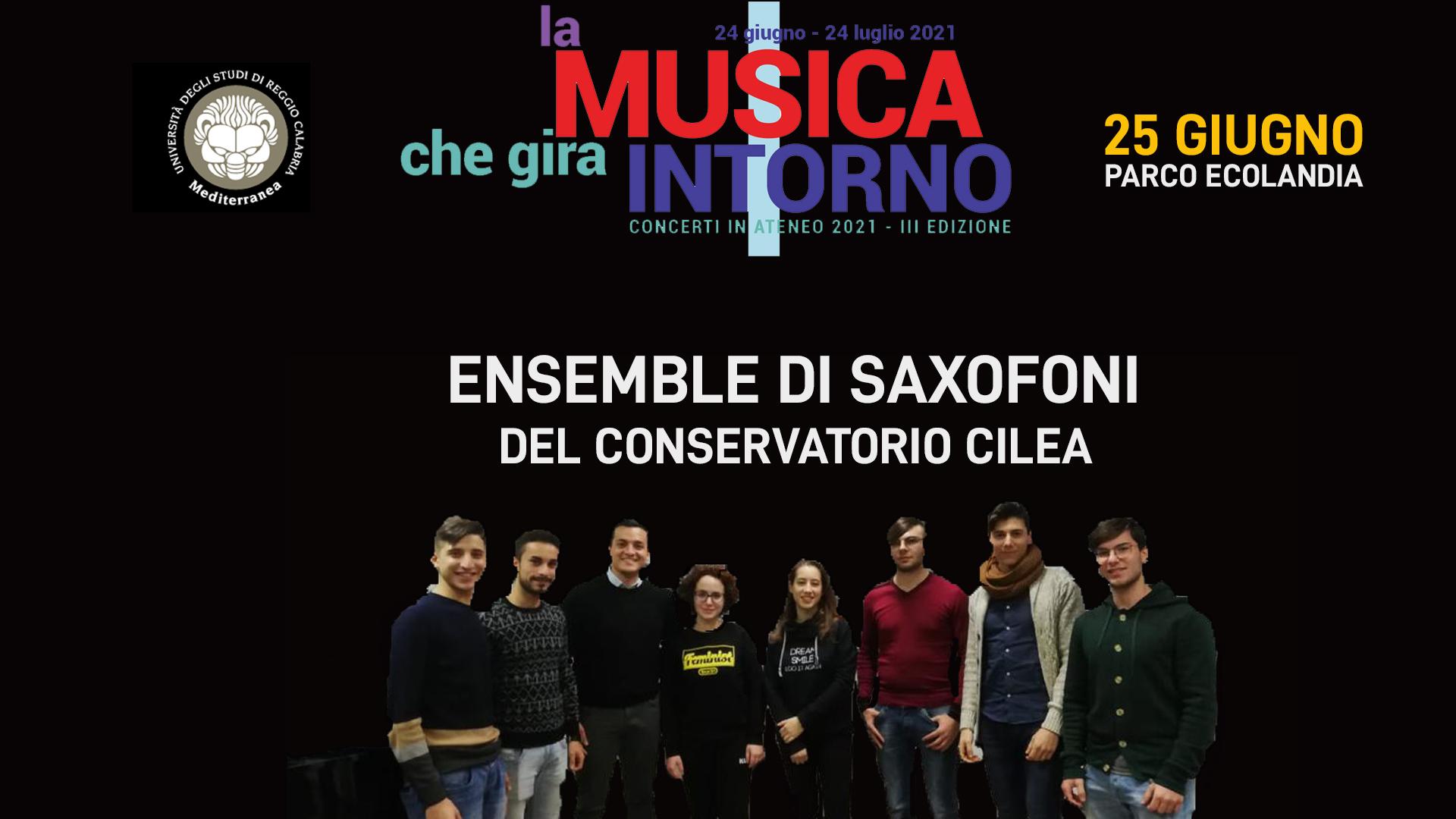 Ensemble di Saxofoni del Conservatorio Cilea