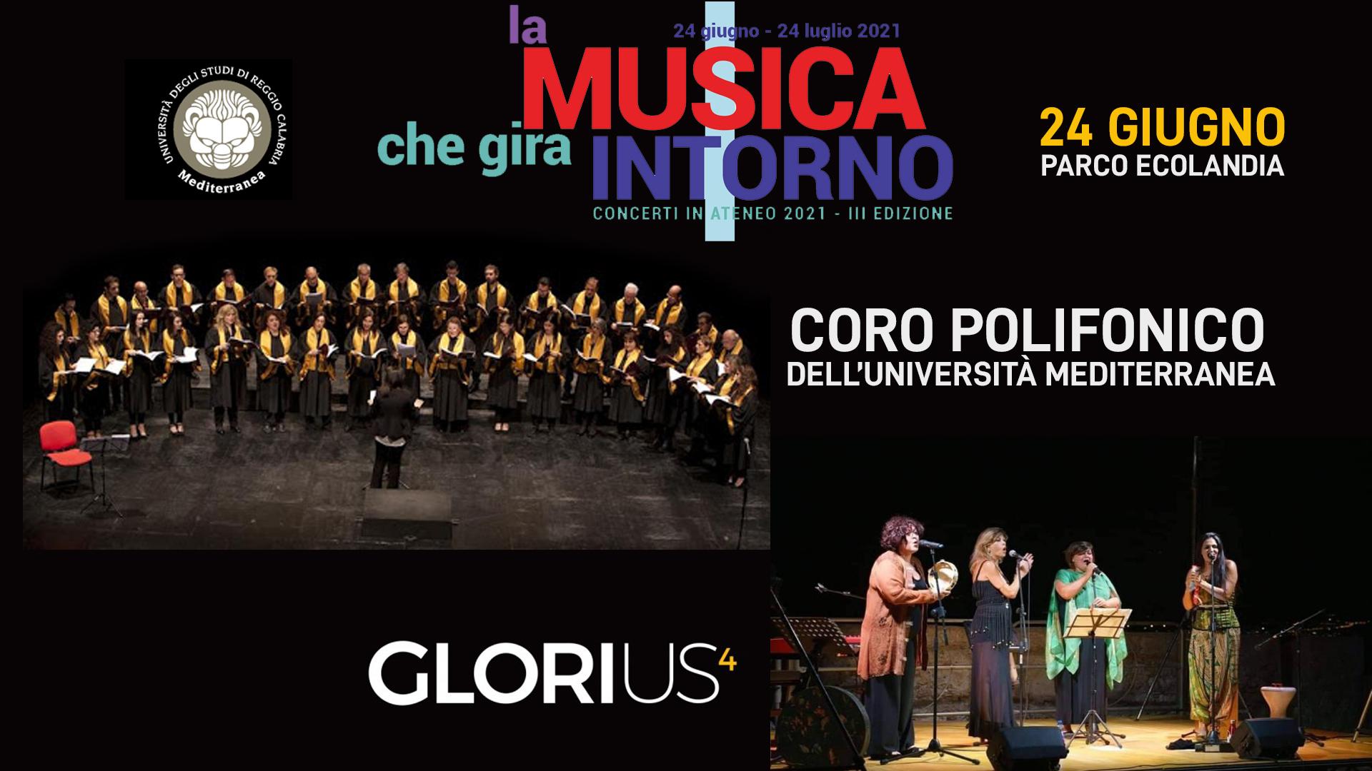 Coro Polifonico dell'Università Mediterranea // Glorius4